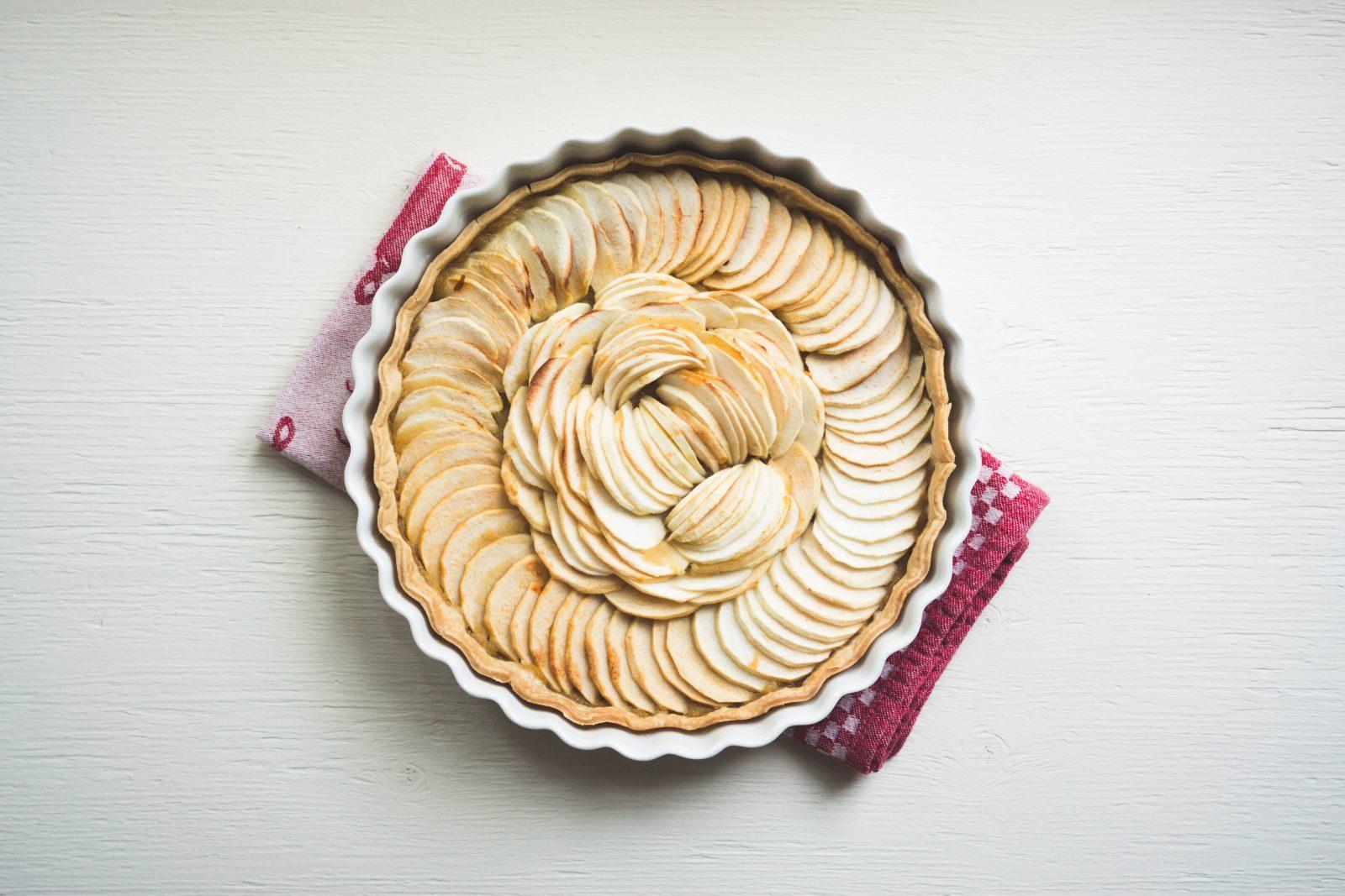 Recette de la tarte aux pommes revisitée
